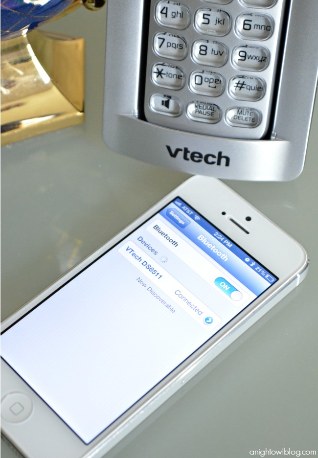 VTech Connect-To-Cell Phone System | #technology #phones #vtech