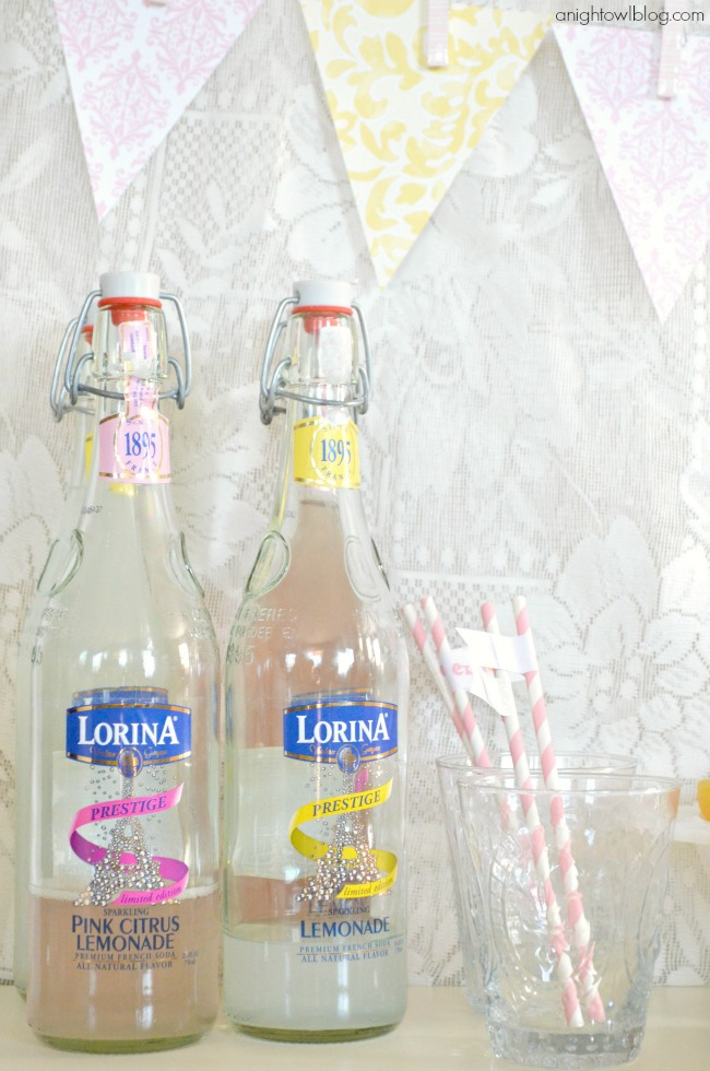 Lorina Sparkling Lemonad Stand | #lorina #lemonade #stand #dessert #party #worldmarket #SummerinParis