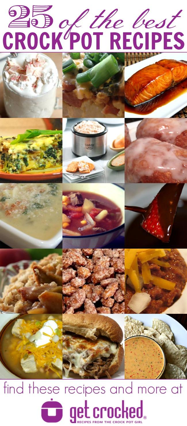 25 Best Crock Pot Recipes from getcrocked.com | #crockpot #recipes