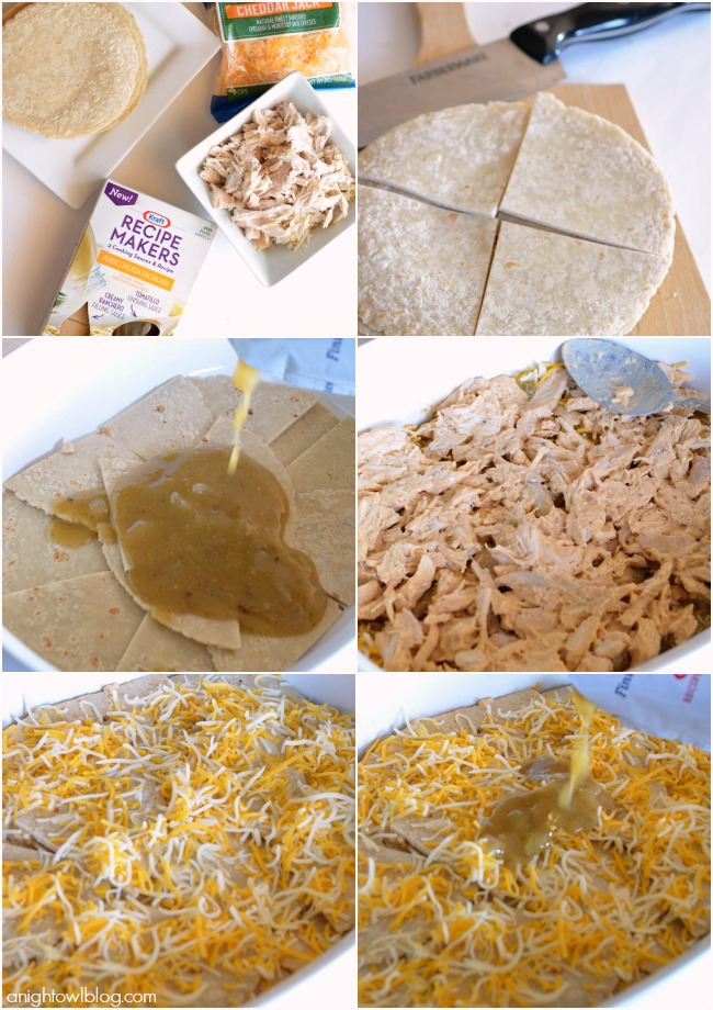 How to make Easy Chicken Enchilada Casserole | #enchilada #casserole #recipes #RecipeMakers