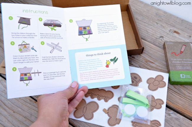 Kids Crafts - A Kiwi Crate Review | #kids #crafts #kiwicrate