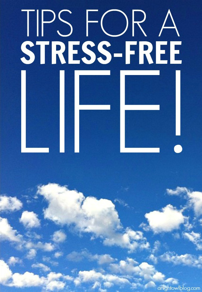 Tips for a Stress-Free Life! | #stress #wellness #healthy #BLISSandtell