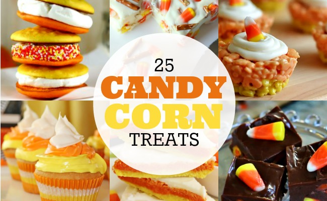 25 Candy Corn Treats Feature