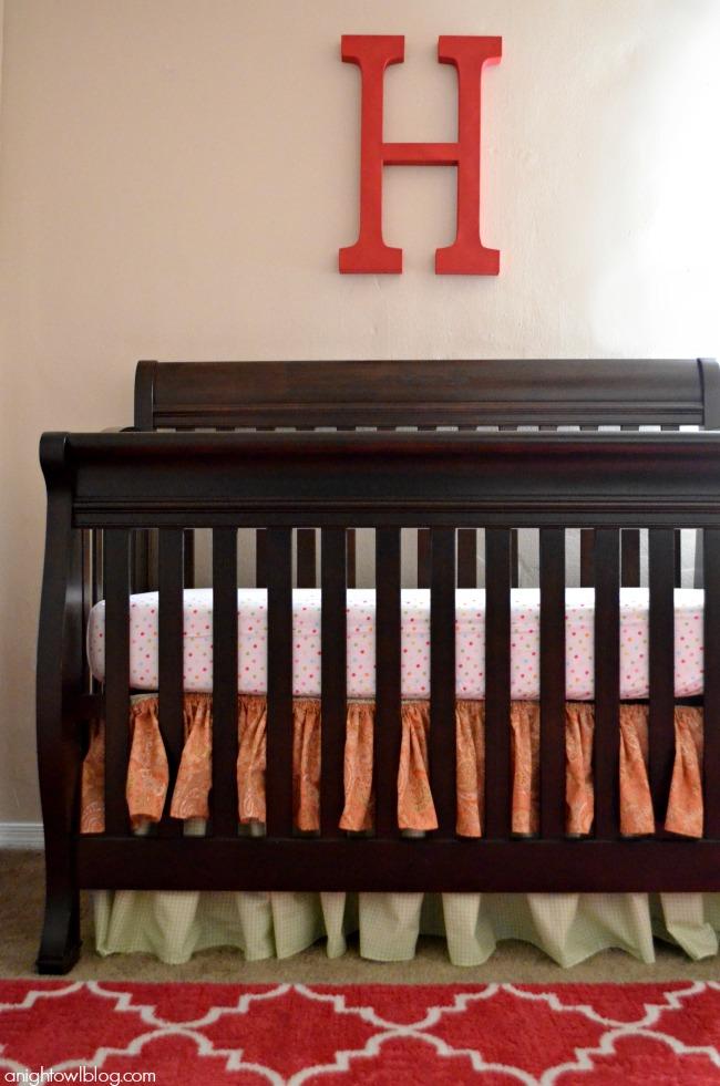 Baby Girl Nursery Ideas | #baby #girl #nursery #decor #mohawkhome