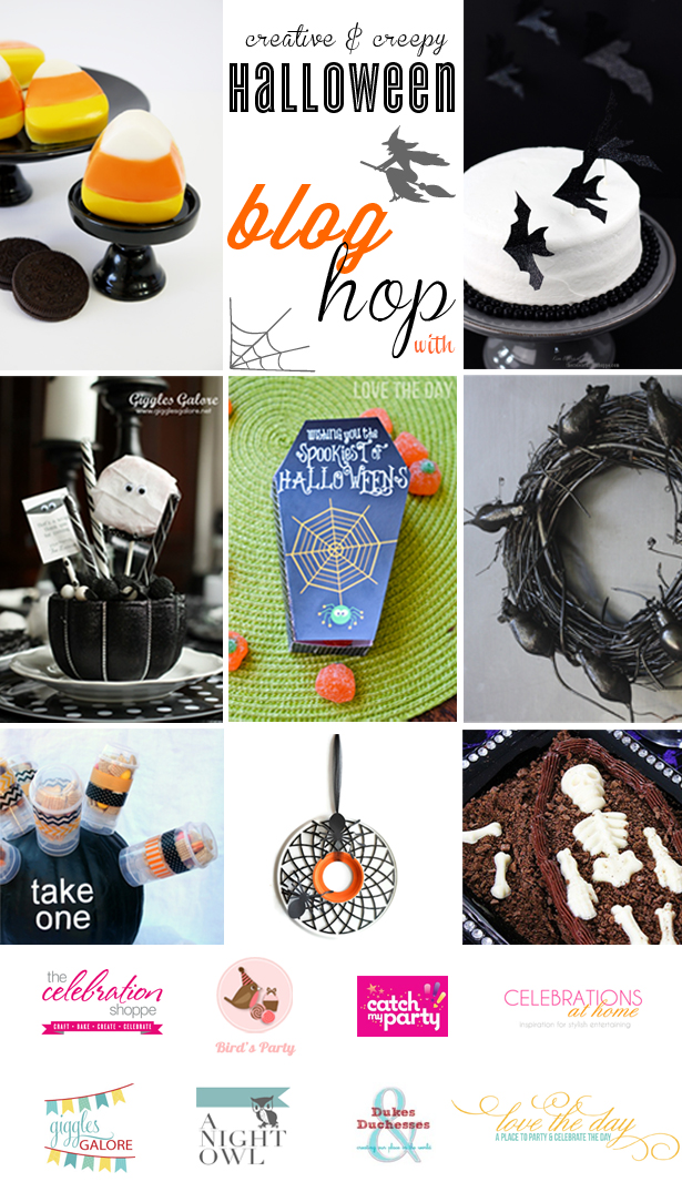 Creative and Creepy Halloween Blog Hop - great DIY projects for your Halloween!