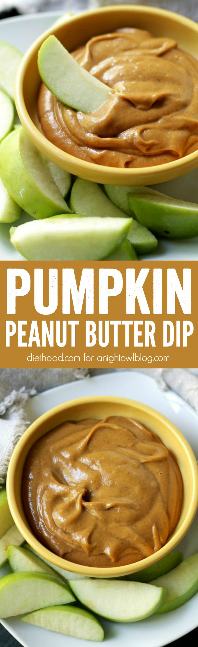 All the flavors of fall in one simple, super-delicious Pumpkin Peanut Butter Dip.