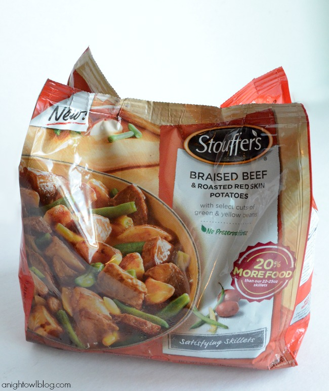 Stouffer's Satisfying Skillets | #cbias #shop #Dinner4Two