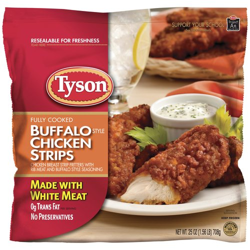Tyson Buffalo Chicken Strips #MealsTogether #cbias #ad