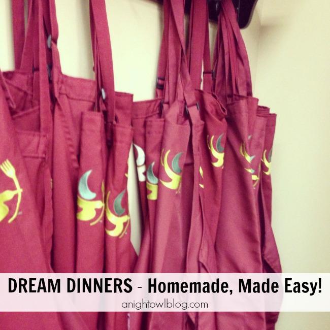 Dream Dinners - Homemade, Made Easy!