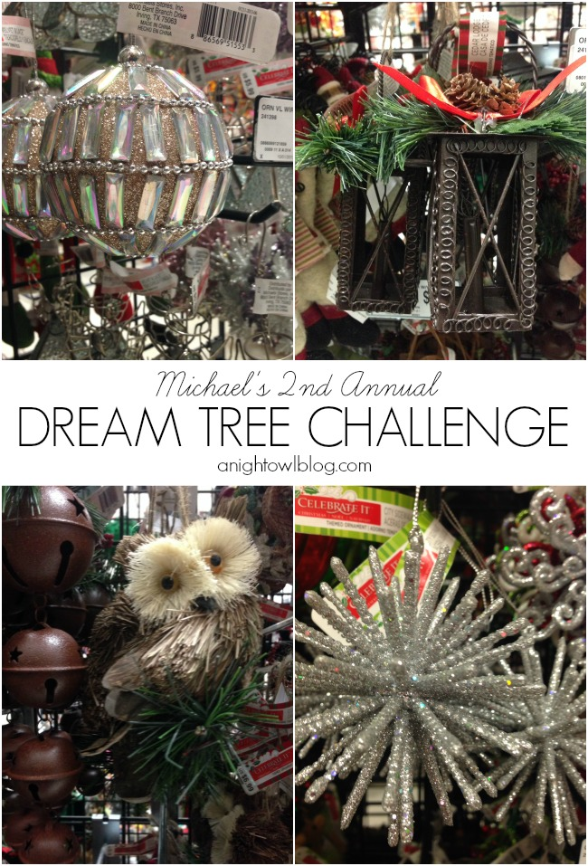 Michaels 2nd Annual Dream Tree Challenge #JustAddMichaels