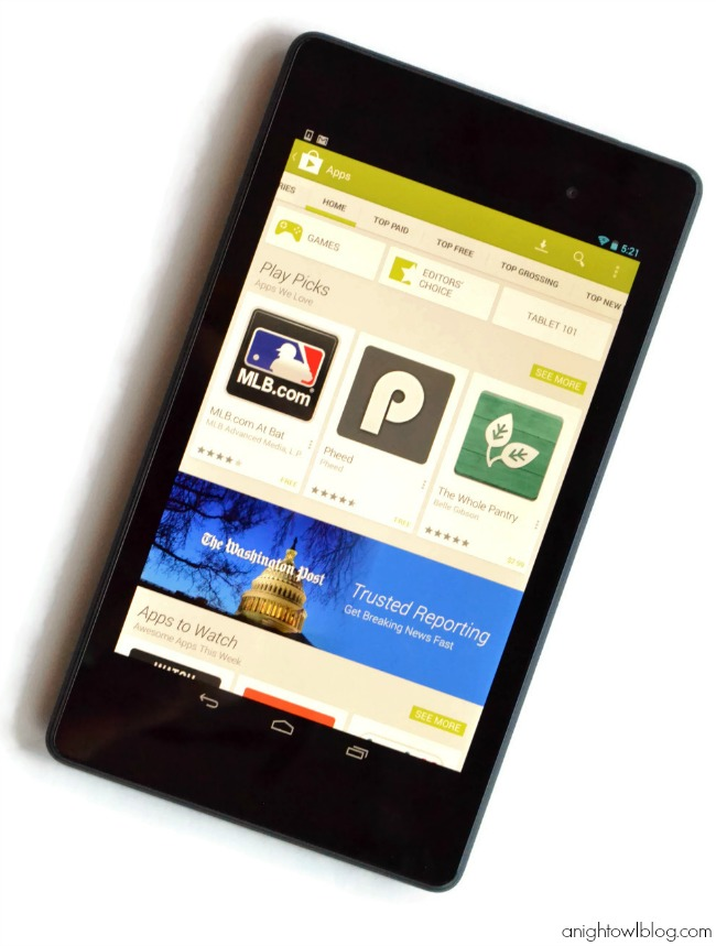Nexus 7 Tablet from Staples