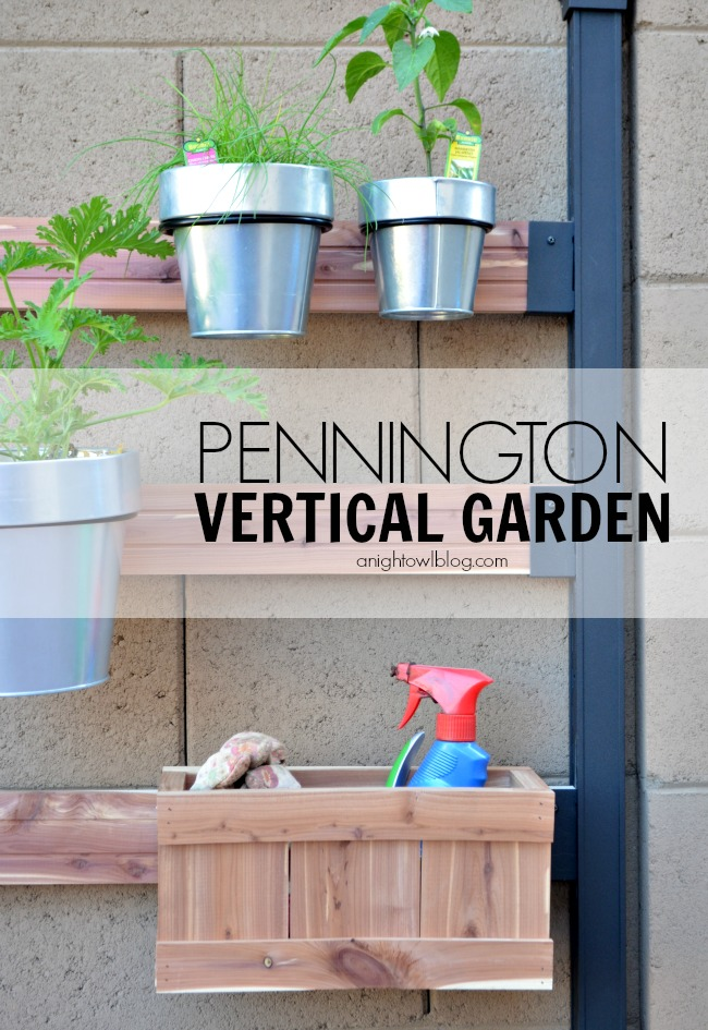 Pennington Vertical Gardening System Review A Night Owl Blog