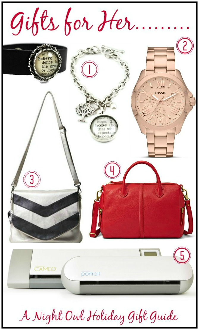 A Night Owl Holiday Gift Guide - Gifts for Her