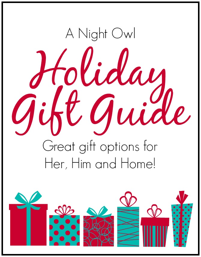 A Night Owl Holiday Gift Guide