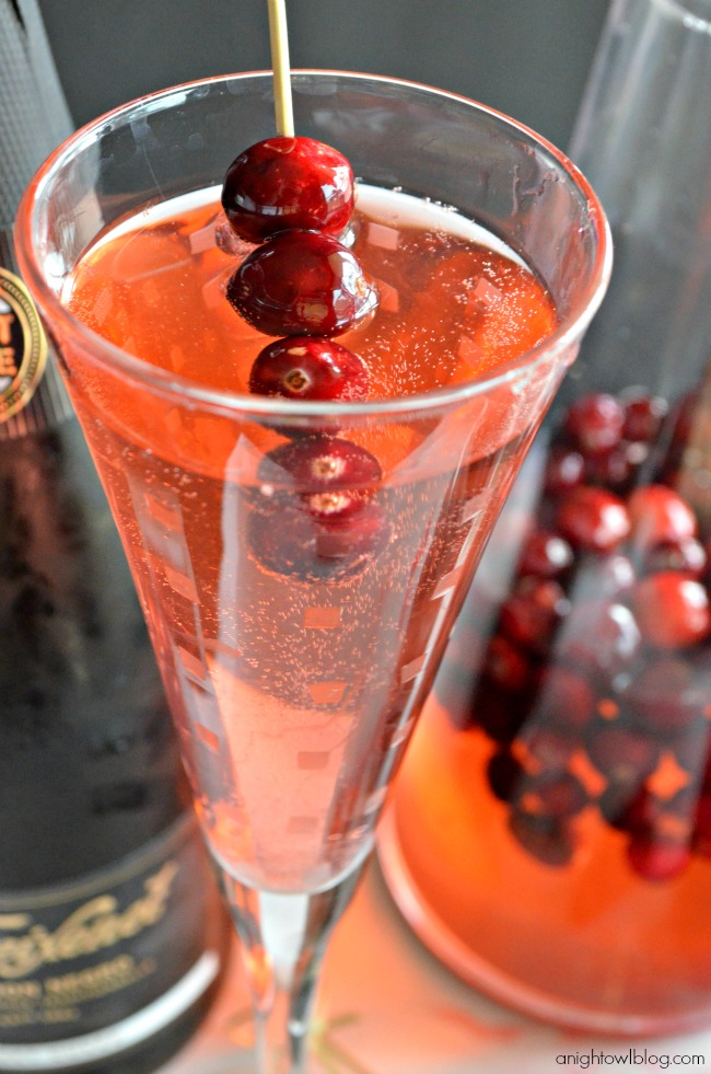 Cranberry Cuvée with Freixenet Sparkling Wines