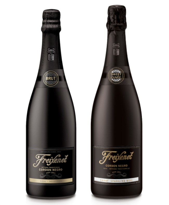 Freixenet Brut and Sweet Cuvee