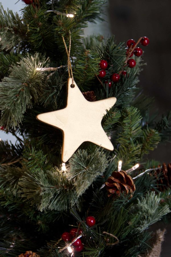 How fab are these ornaments? Just some gold spray paint and the result is one gorgeous ornament!