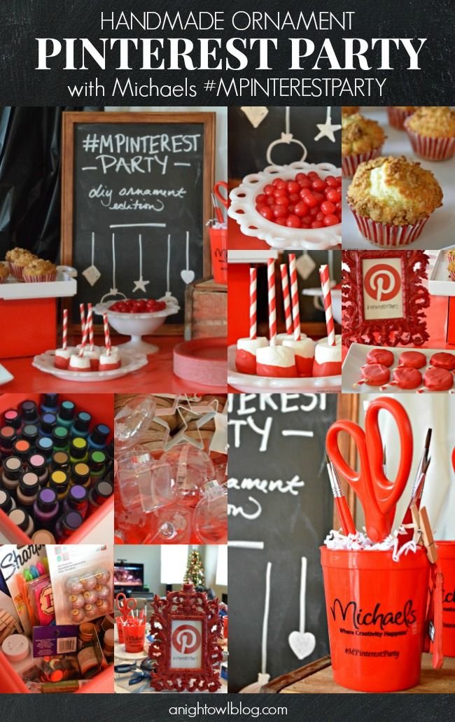 A fun at-home Pinterest Party with Michaels! #MPinterestParty #JustAddMichaels