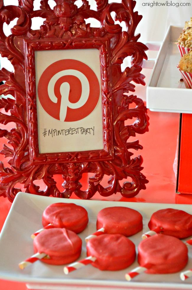 Tasty treats at a fun at-home Pinterest Party with Michaels!