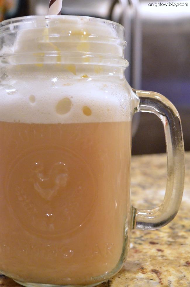 Spiked Pumpkin Spice Tea Latte