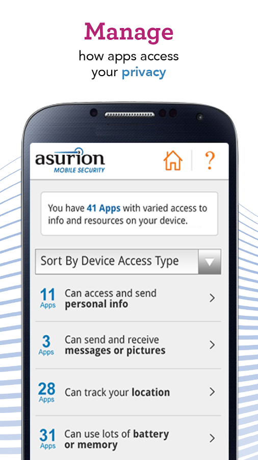 Protect your privacy with Asurion - Your Technology Protection Company. #BecauseCrazyHappens