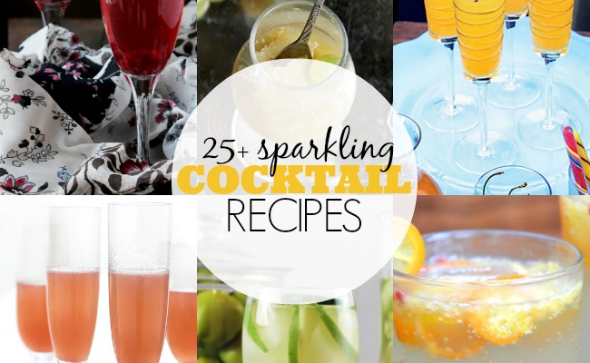 Sparkling cocktail recipes