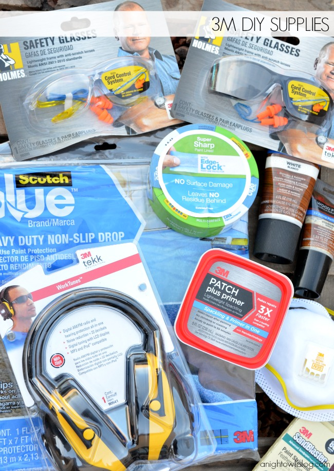 3M DIY supplies can make all your DIY projects safer and easier!