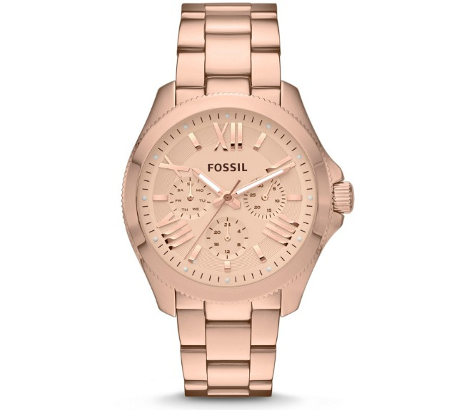 Cecile Rose Gold Watch by Fossil