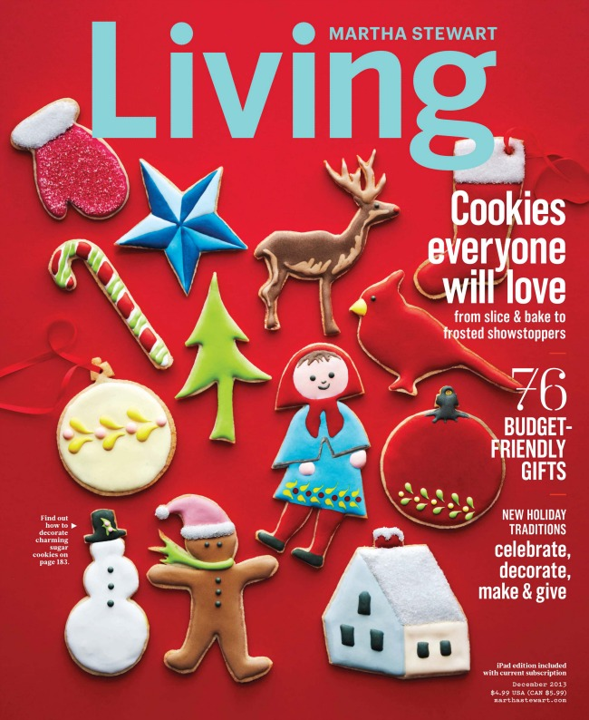 Amazing projects in the December issue of Martha Stewart Living