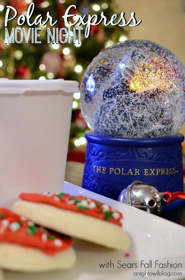 0bb017706 Polar Express Movie Night with SearsStyle Fall Fashion