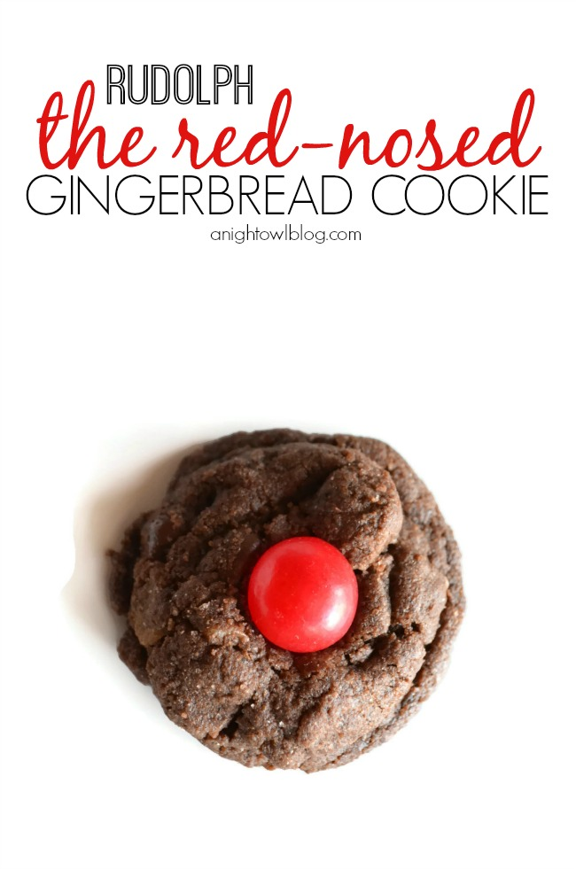 Rudolph Gingerbread Cookies with Martha Baking #12monthsofmartha #marthabaking