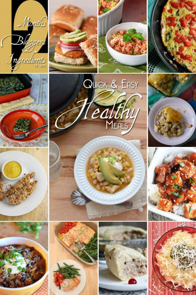 12 Quick and Healthy Meals