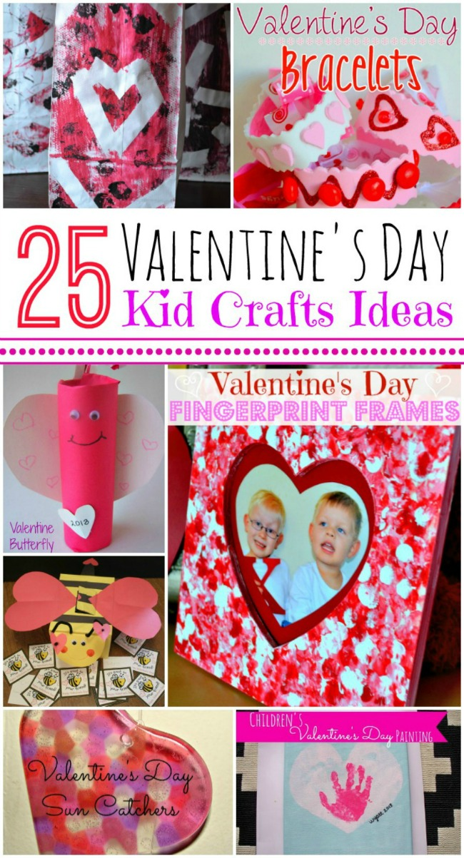 25 Valentine S Day Craft Ideas For Kids A Night Owl Blog