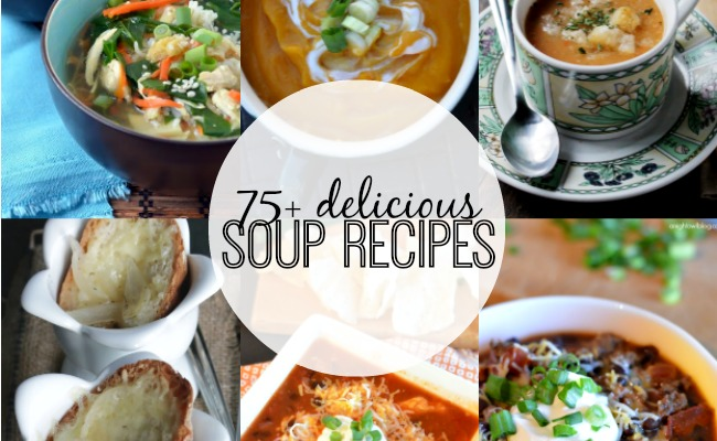 Such a great list of soups - perfect for this time of year!