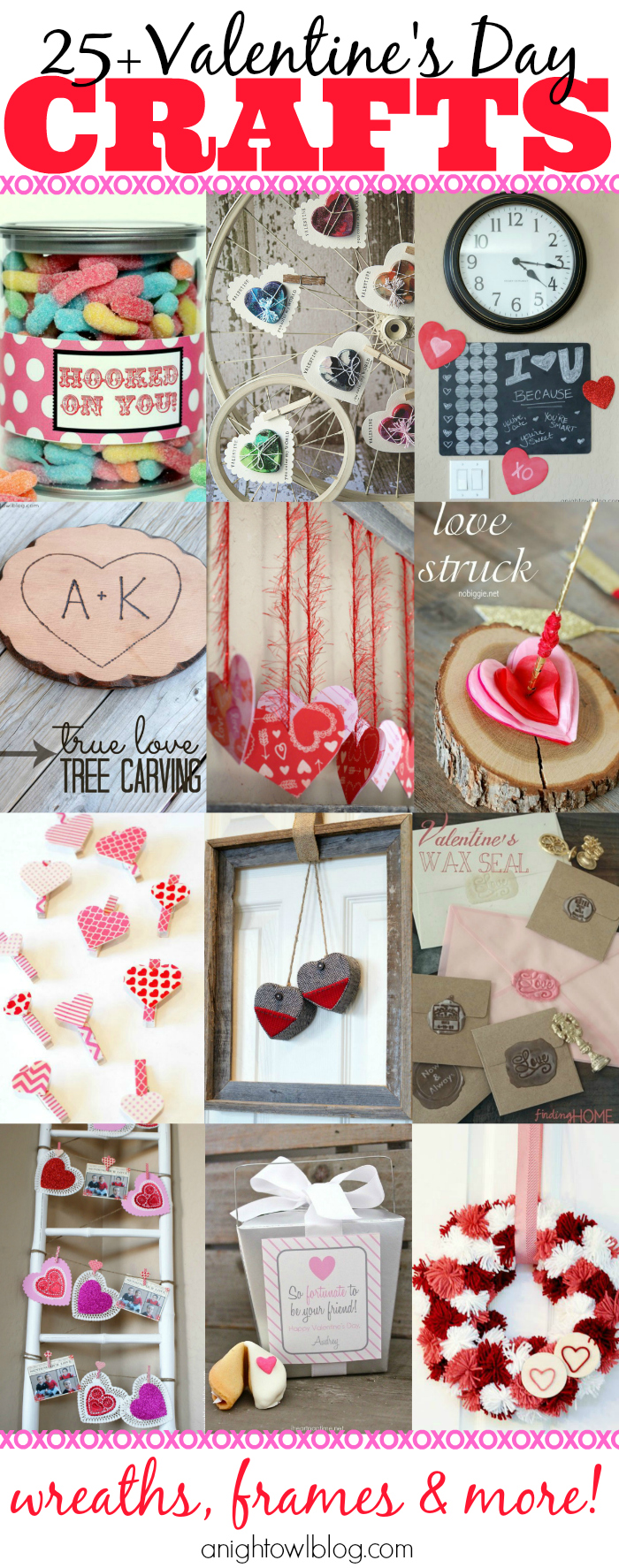 Looking for craft and decor inspiration this holiday season? Look no further! Here are 25+ Valentine's Day Crafts you're sure to love!