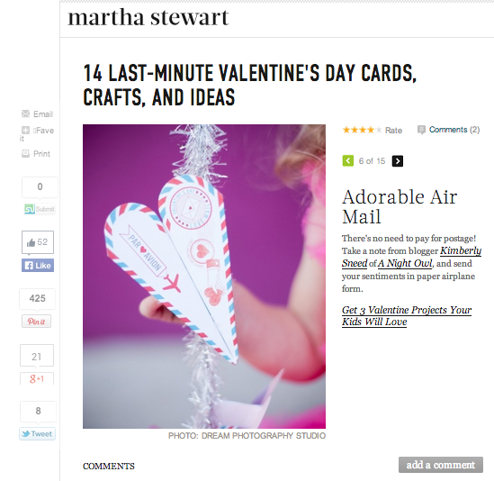 14 Last-Minute Valentine's Day Cards, Crafts and Ideas - Martha Stewart