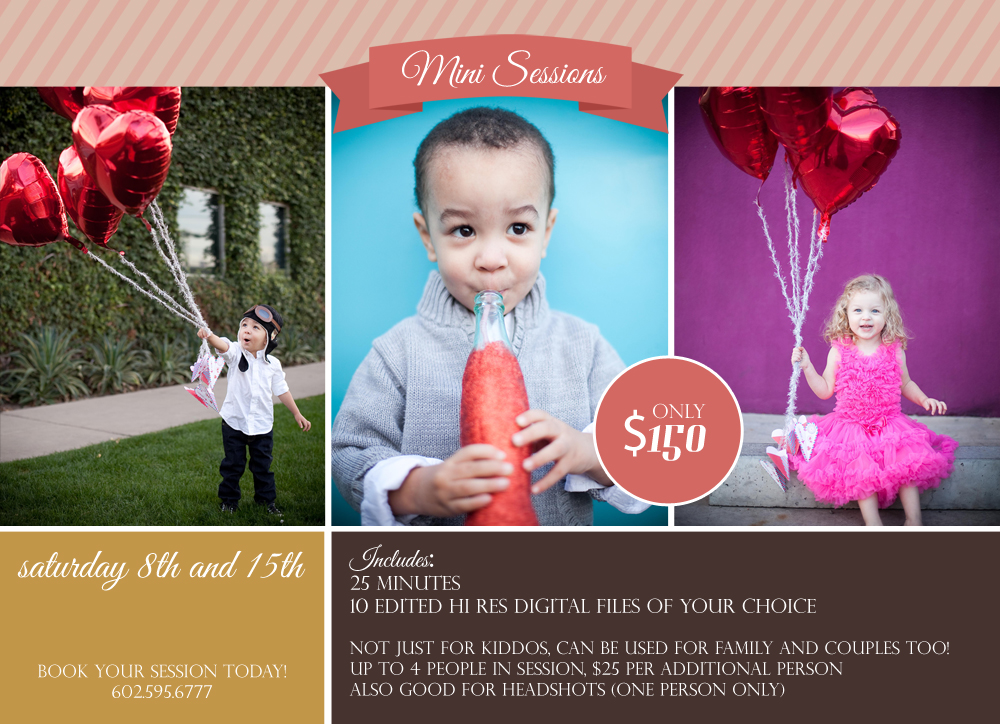 Valentines Day Mini Sessions - Dream Photography Studio
