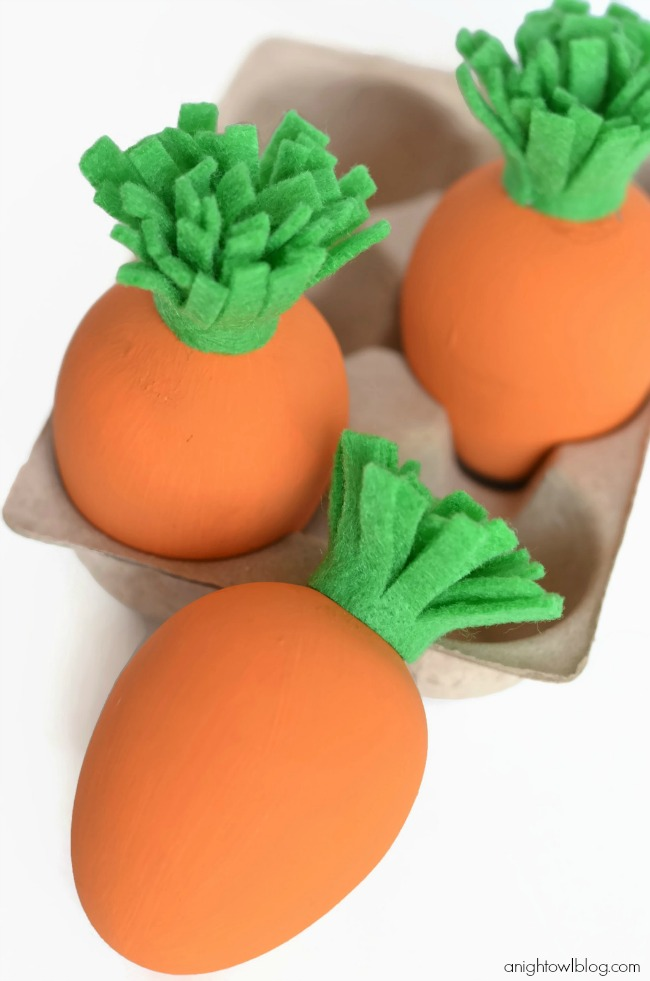 Carrot Easter Eggs