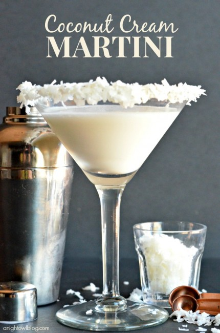 Coconut Cream Martini 3