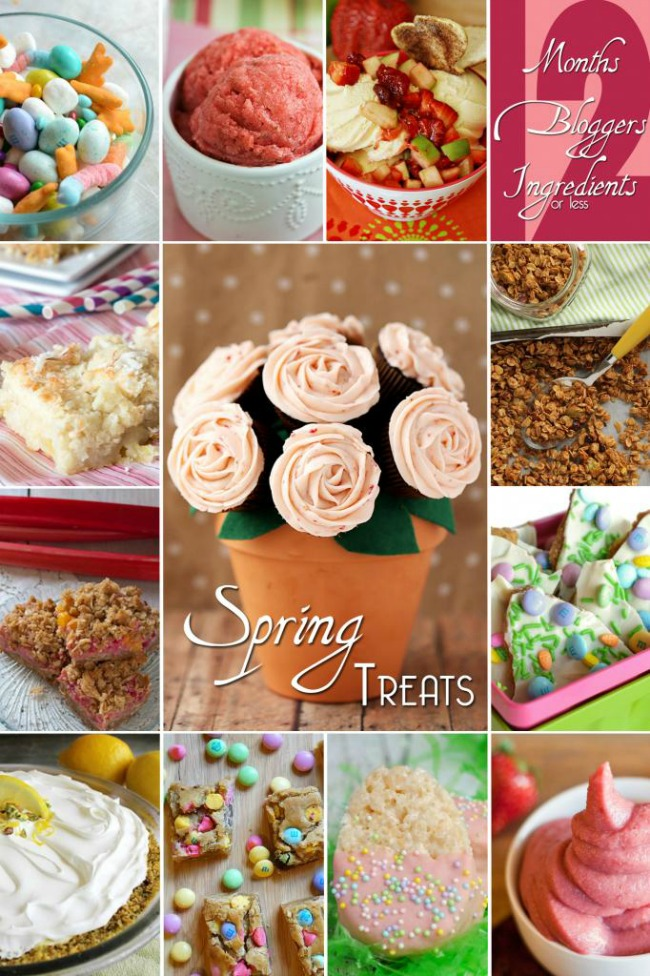 What a great list of sweet Spring treats!