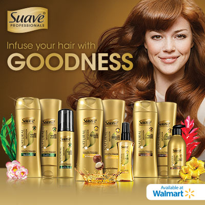 Infuse your hair with goodness! #SuaveGoodness