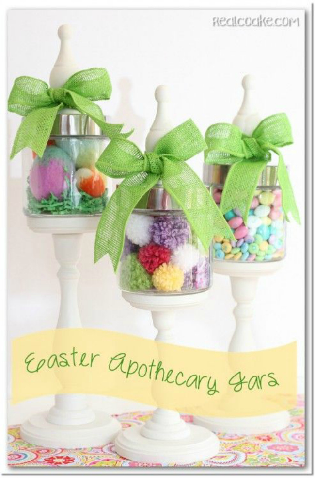 Easter Mason Jar Ideas A Night Owl Blog