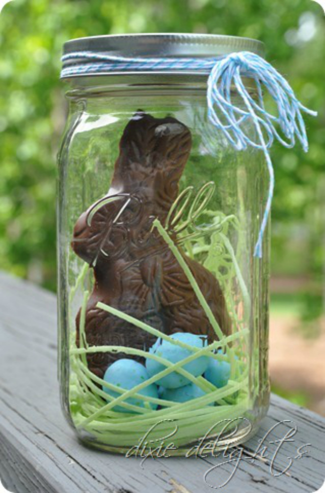 Easter Dessert Jar