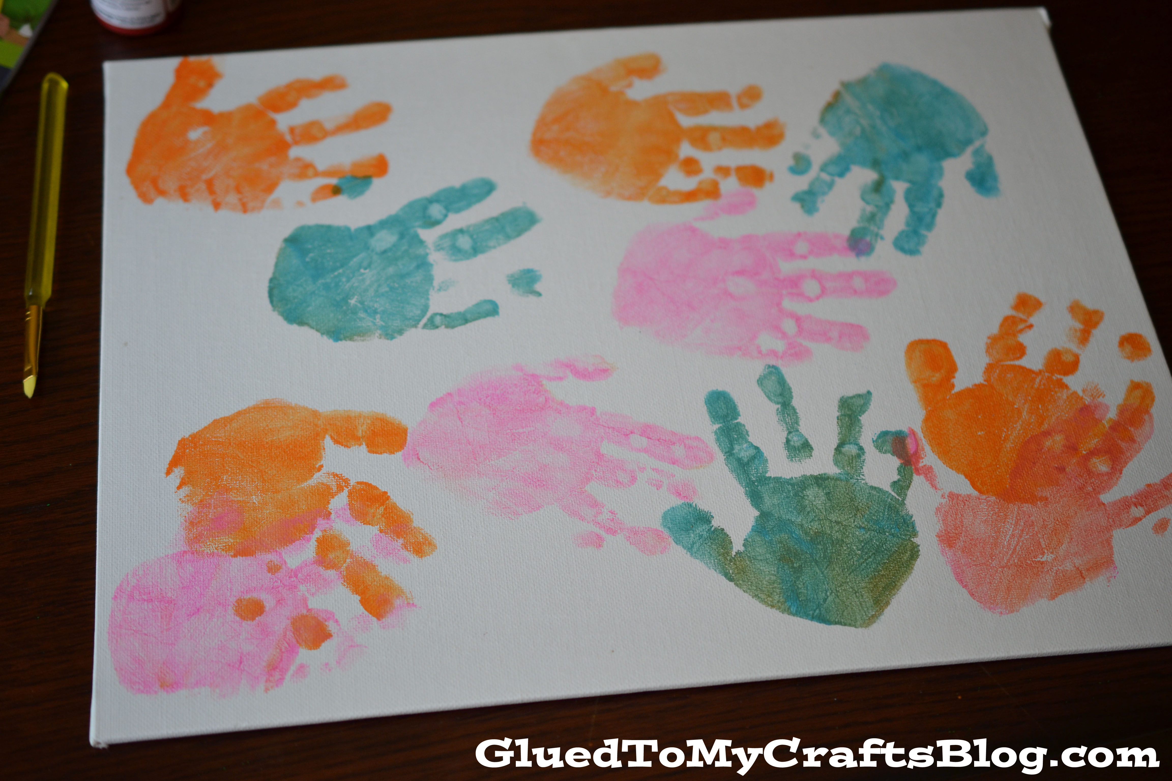 Handprint Mother S Day Gifts A Night Owl Blog