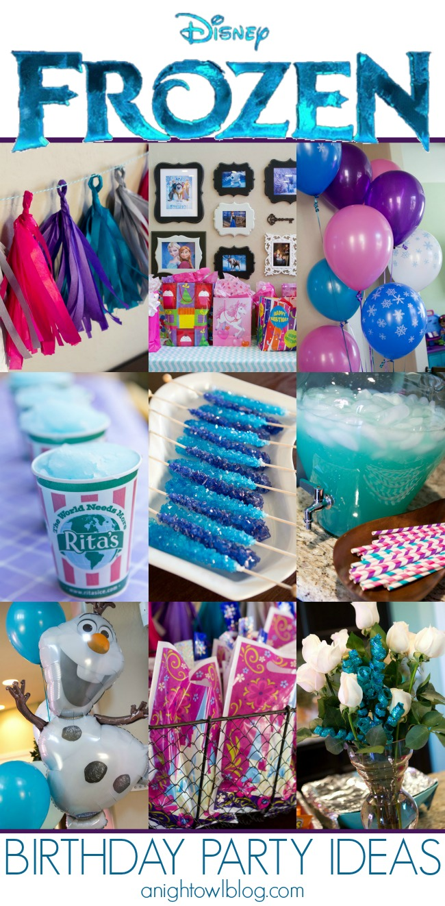 So Many Great And Easy Disney Frozen Birthday Party Ideas