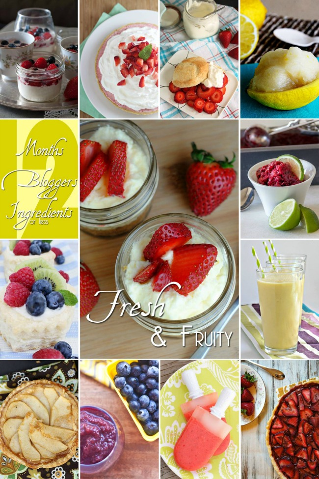 What a great list of Fresh Fruit Recipes!
