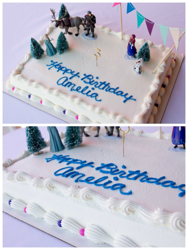 Frozen birthday cake - Disney Frozen Birthday Party Ideas