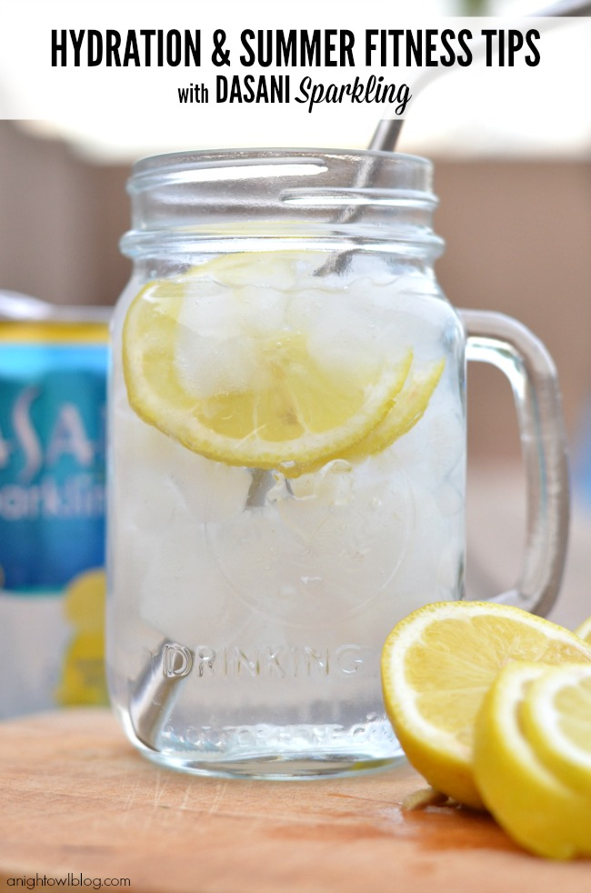 Hydration and Summer Fitness Tips with DASANI Sparkling