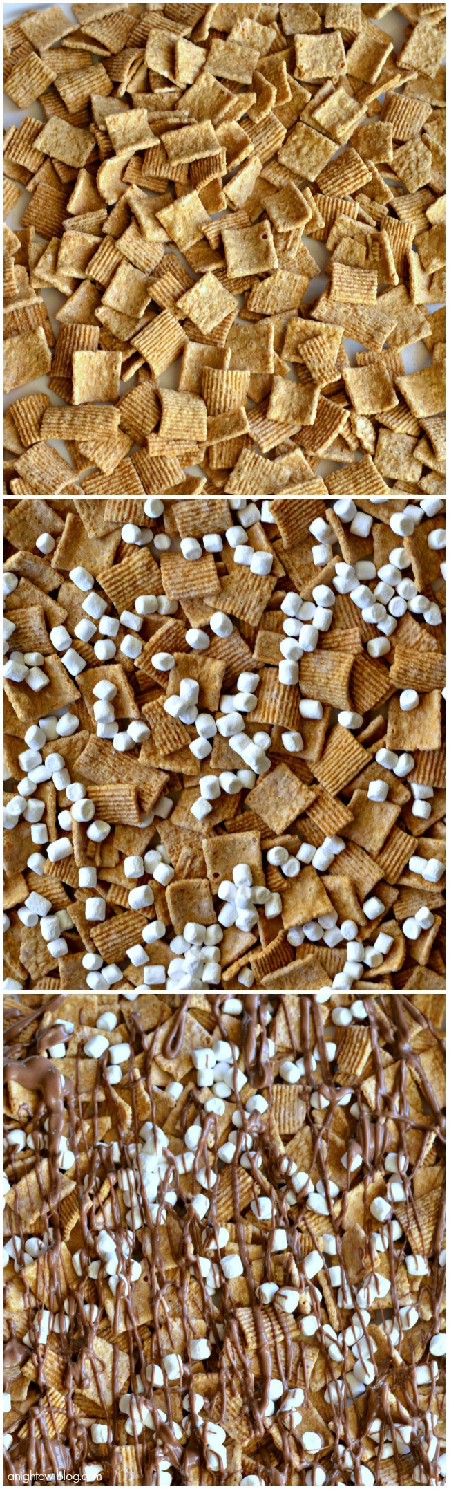 Make this S'mores Snack Mix in just a few easy steps!