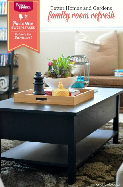 Refresh your home this Summer with Better Homes and Gardens! #BHGRefresh
